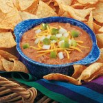 Venison Chili-Cheese Dip  Game Day Snack