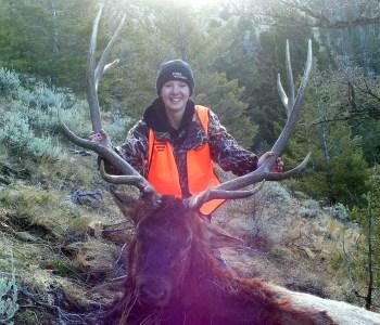 Liza's Bull Elk 2012
