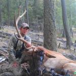 Typical Montana Elk Hunt Results in Non-Typical Bull