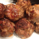 Venison Bacon Meatballs?  YES WAY!