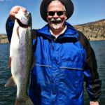 Nice Weather and Good Fishing on Holter Reservoir