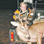 Four Year Old Hunter Bags First Big Buck