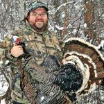 Snowy Spring Turkey Hunting Success!