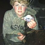 Sixth Grader Bags his first Turkey during his first Turkey Hunting Season