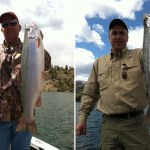 "It was ""Fish On"" at Holter Reservoir this Week!"