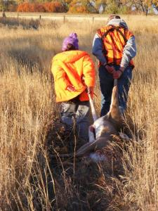 The behavior of hunters now may determine the future of hunting for the next generation. Photo by FWP.