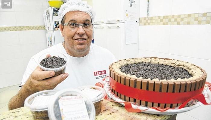 Ricardo Antunes - Sucesso com bolo no pote