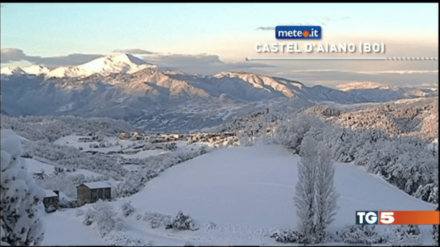 Webcam Montefenaro su TG5