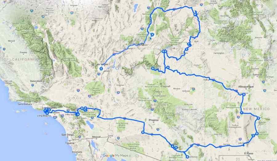 Route U.S.A. 2015