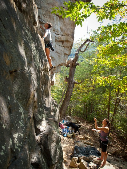 Climbing at The Obed - 09.25.2011 - 14.41.31