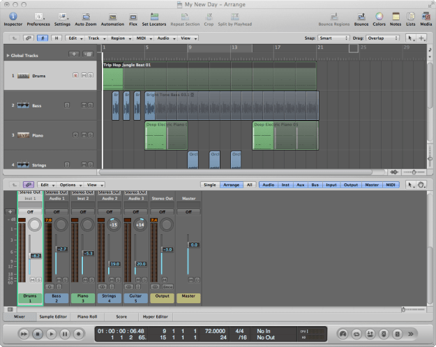 logic pro - new day