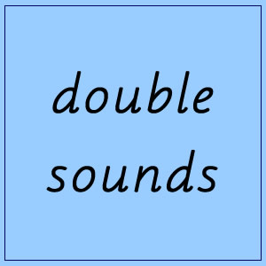Double sounds 2 :: Blue Box 4 - Pictures and Words