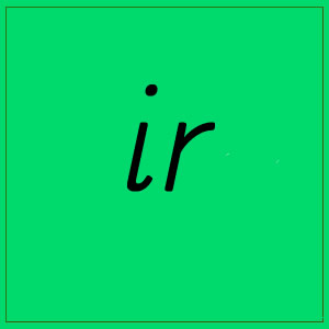 ir- sounds