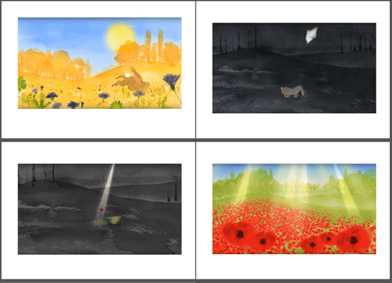 CBEEBIES Poppy Animation screen grabs