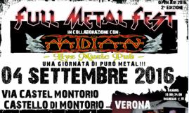 Full Metal Fest Open Air 2016 @ Catello di Montorio | Verona | Veneto | Italia