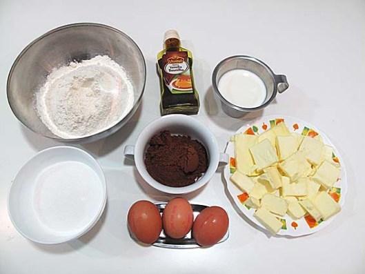 donut aftereight o bizcocho de chocolate y menta