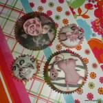 bachelorette versierde cupcakes