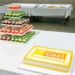 cupcaketoren cupcakes met logo stad geel taart met logo kempen geel turnhout kasterlee balen olen westerlo herentals dessel retie antwerpen tessenderlo ham