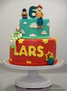 toy story taart Lars buzz lightyear