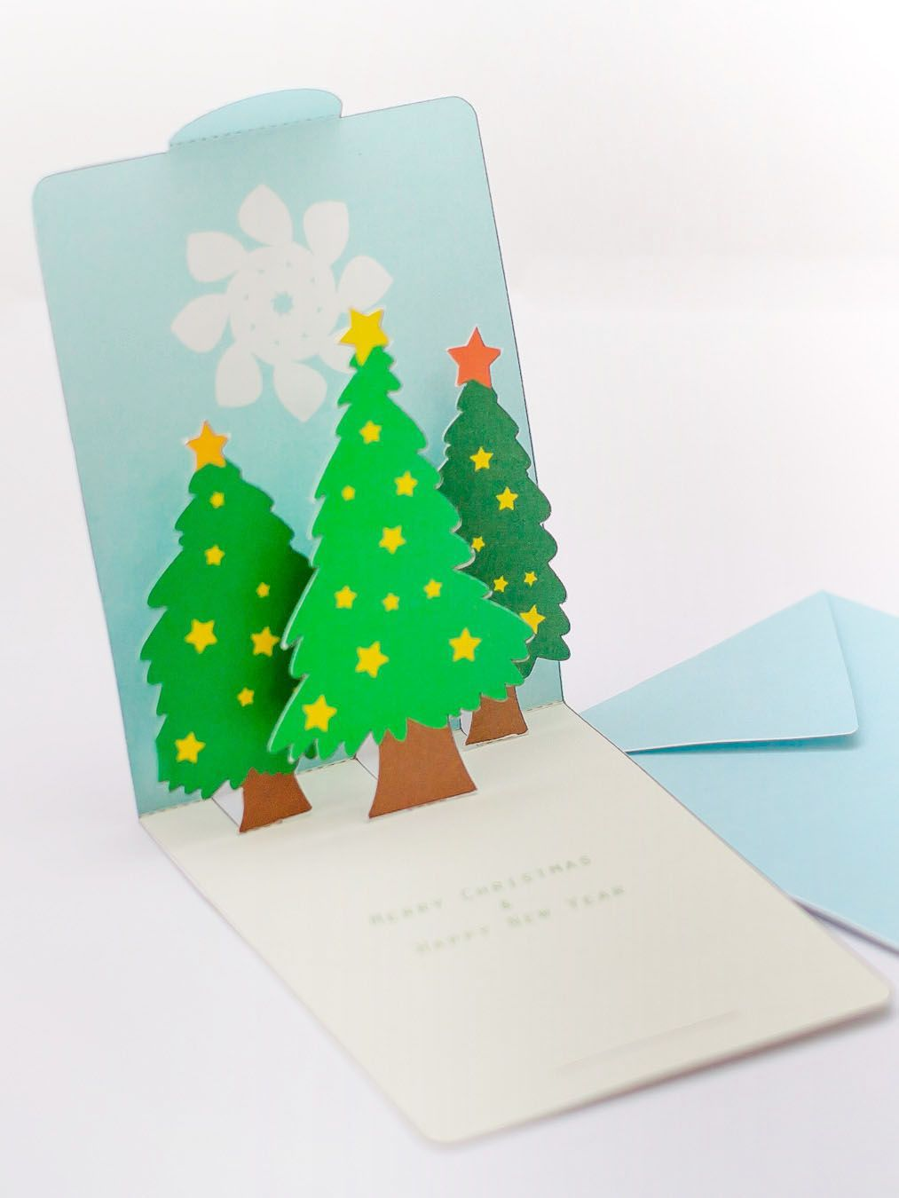 card making 141109 christmas trees pop up. Black Bedroom Furniture Sets. Home Design Ideas