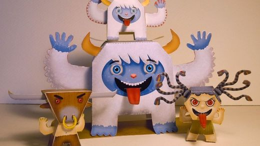 monster-toys-paper-model-by-denise-plauche-thumb