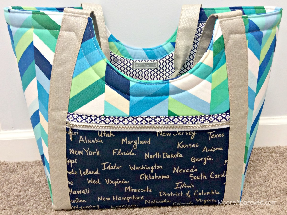 Noodlehead's Poolside Tote: Pattern Review & Tips