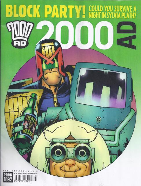 2000 AD 1892 - cover by Colin MacNeil