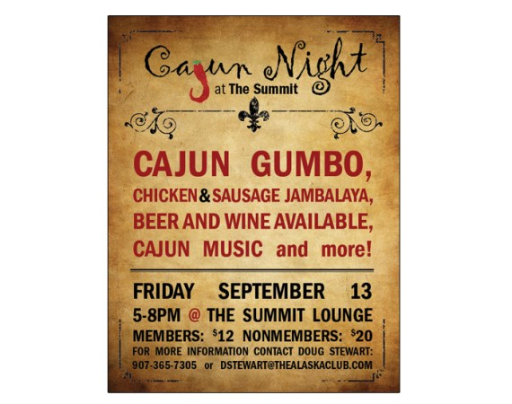 Cajun Cookout Poster