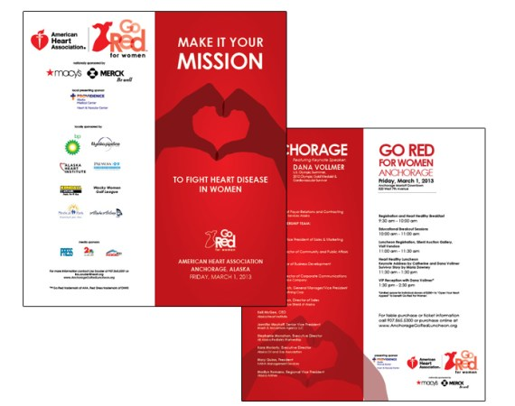 Go Red Event Handout