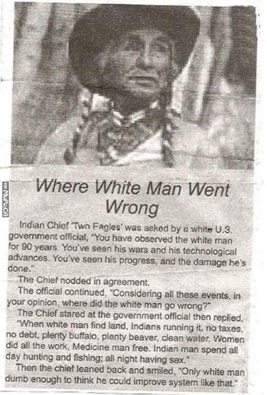 white-man