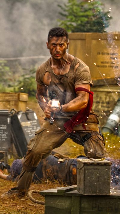 Download Tiger Shroff In Baaghi 2 Free Pure 4K Ultra HD Mobile Wallpaper