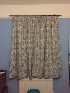Bedroom curtains