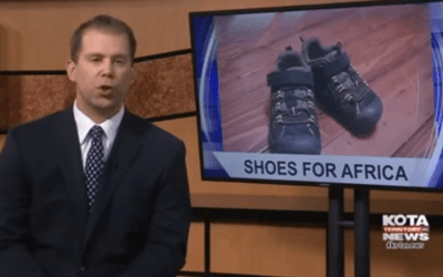 In The News: YMCA wants community's help to send shoes to Africa