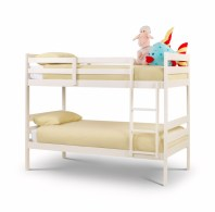 Modena white bunk bed - More Than Beds, Bangor