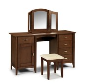 Minuet twin pedestal dressing table - More Than Beds, Bangor