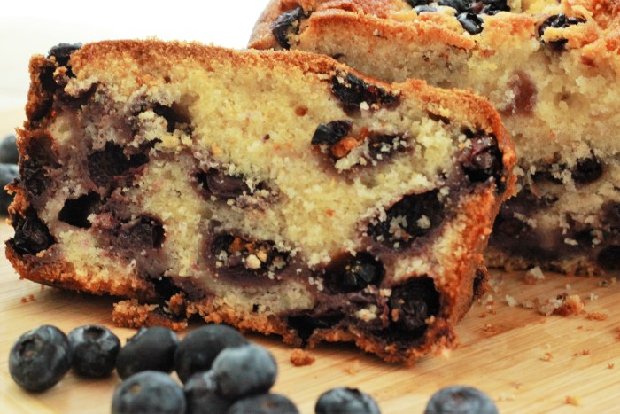 Blueberry Tea Cake - more than curry