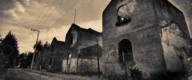 Une ville fantôme