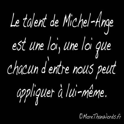 michel-ange-more-than-words