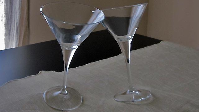 les verres Martini, l'objet de design par excellence