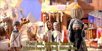 Team America Muslim friends image