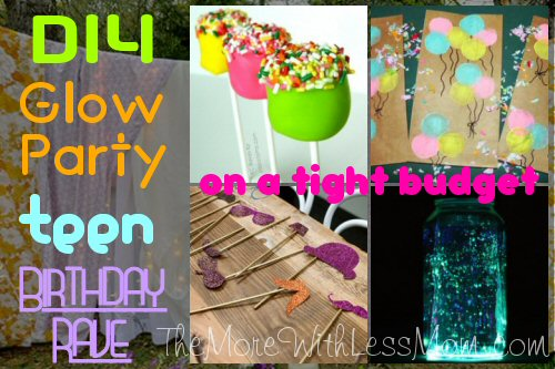 Glow Party Teen Birthday Rave