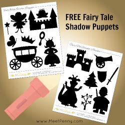 Fairy Tale Shadow Puppets