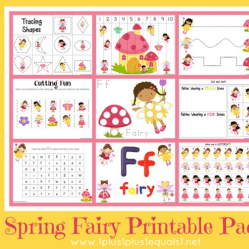 Fairy Printable Pack