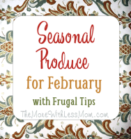 Seasonal Produce February