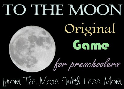 To The Moon Original Game for Preschoolers