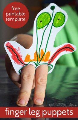 Finger Leg Puppets