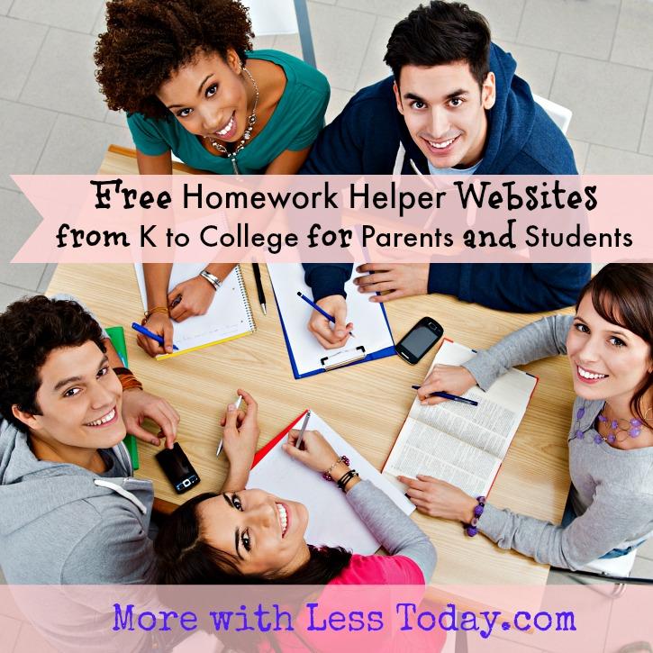free homework helper websites, parents help with homework sites, get answers for homework, parents get help with homework