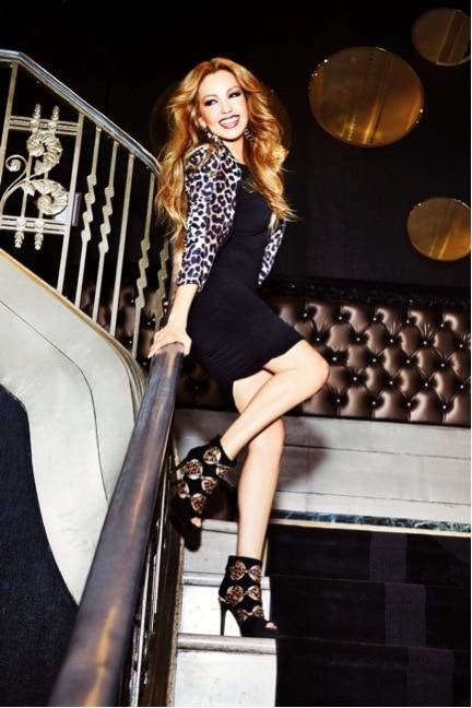 Macy's Thalia Sodi launch party- Thalia for Macy's collection- view the new Thalia fashion at Macy's- debut Thalia collection