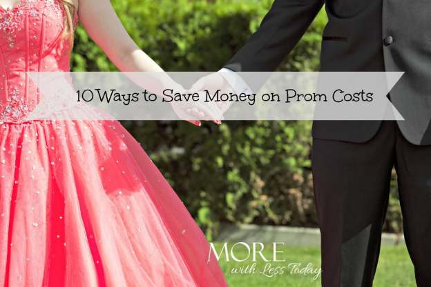 10 ways to save money on prom costs, average price of attending the prom, renting a prom dress, spending less on prom expenses, hold a dress swap for prom