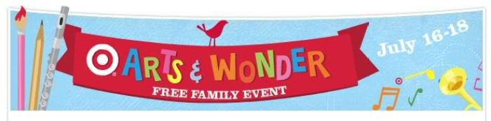 Target Free Family Events